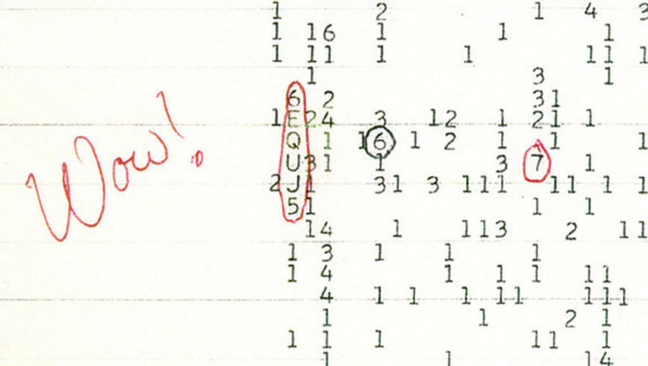 WOW Signal | ESO Supernova