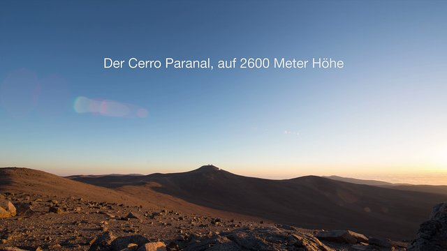 Paranal Trailer (German)