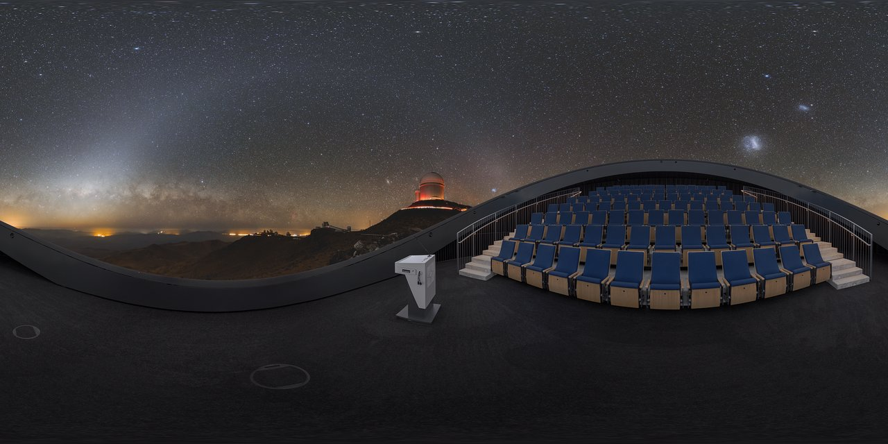 La Silla covers the Planetarium