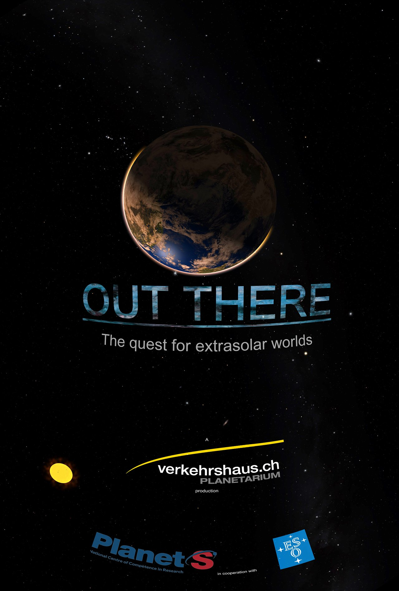 Planetarium show: Out There — The Quest for Extrasolar Worlds