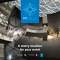 Front cover of ESO Supernova Planetarium & Visitor Centre events brochure
