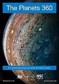 "Poster for: ""The Planets 360: a musical tour of the Solar System"""
