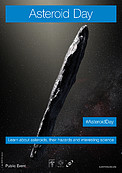"""Asteroid Day"" May 2019 poster (English version)"