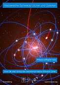 """Massive Black Holes and Galaxies"" poster (German version)"