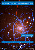 """Massive Black Holes and Galaxies"" poster (English version)"