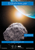 """Near-Earth Objects"" poster (German version)"