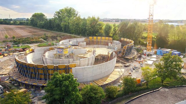 Timelapse of the construction of the ESO Supernova Planetarium & Visitor Centre